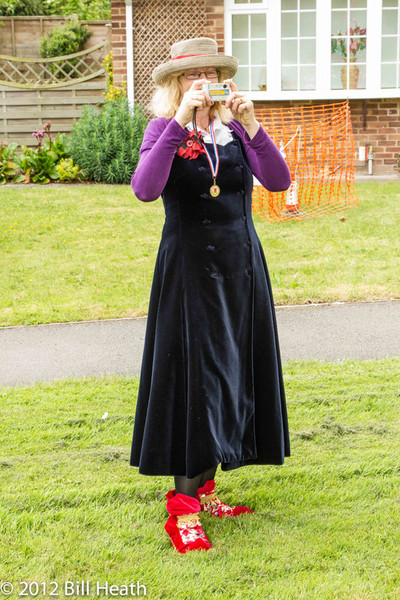 The diamond jubilee was celebrated on Claxton Village Green